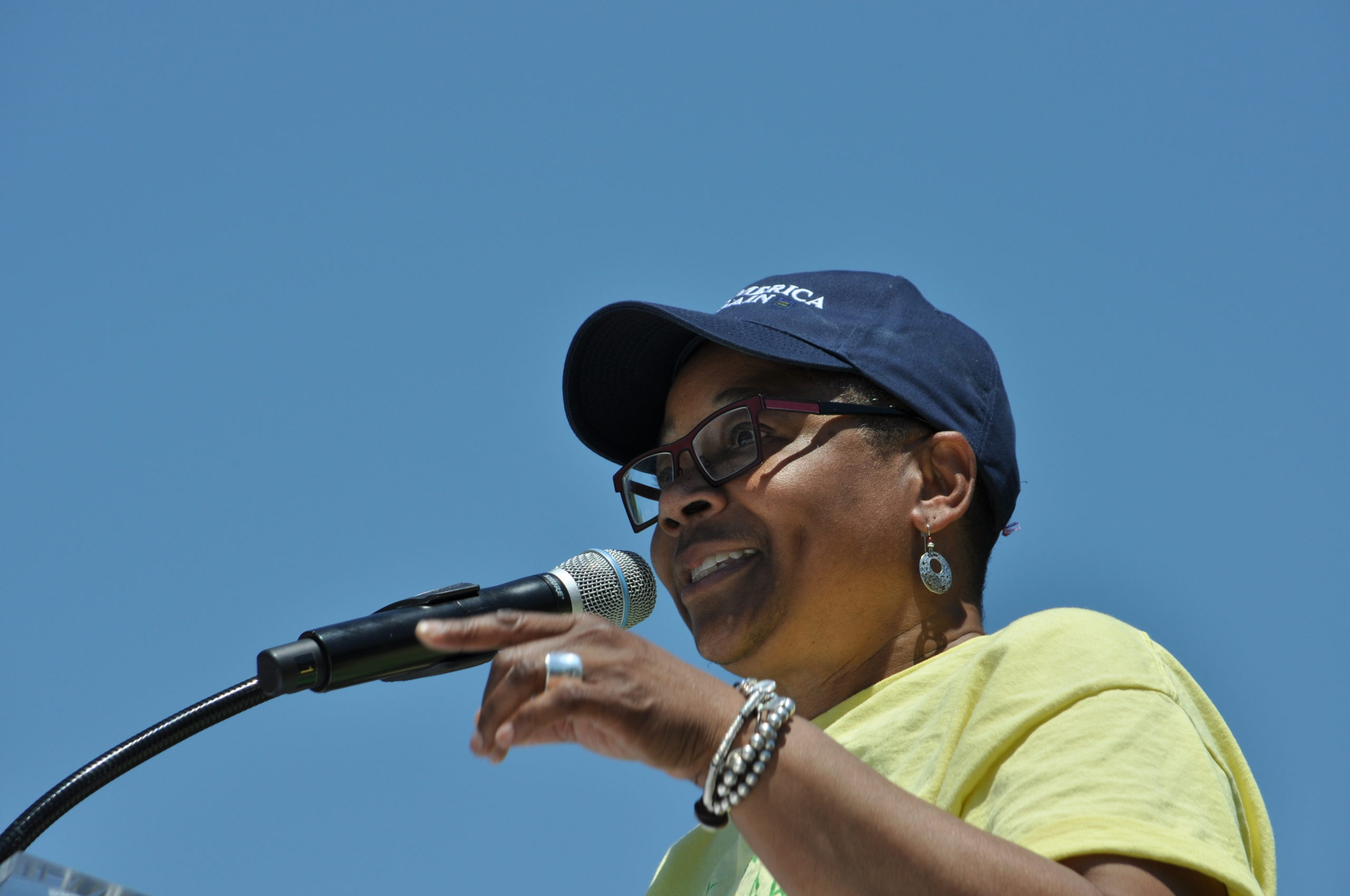 Speaking at Equality March